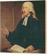 Portrait Of John Wesley Wood Print