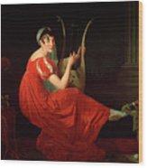 Portrait Of Josephine Budayevskaya Wood Print