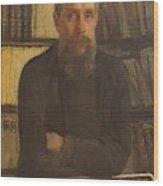 Portrait Of Kostichev Wood Print