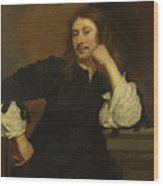 Portrait Of Lucas Fayd Herbe  Wood Print