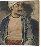 Portrait Of Mustapha Wood Print