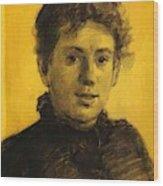 Portrait Of Tatyana Tolstaya Leo Tolstoy Daughter Wood Print