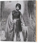 Portrait Of Turkish Emperor Mahmoud Wood Print