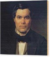 Portrait Of Yakov Merkulov Wood Print
