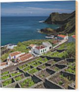 Portugal, Azores, Santa Maria Island Wood Print
