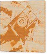 Posterised Photography Wood Print