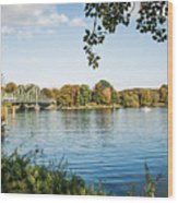 Potsdam - Havel River / Glienicke Bridge Wood Print