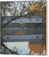 Potter's Bridge, Noblesville, Indiana Wood Print
