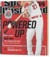 Powered Up 2014 Mlb Baseball Preview Issue Sports Illustrated Cover Wood Print