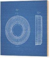 Pp912-blueprint Kodak Carousel Patent Poster Wood Print
