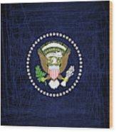 President Seal Eagle Wood Print