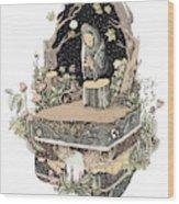Priest Wood Print