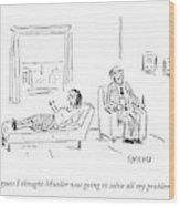 Mueller Problems Wood Print