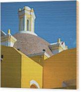 Puebla Library Wood Print