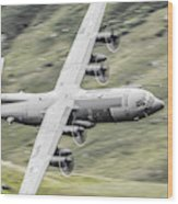 Raf C-130 Hercules 1 Wood Print