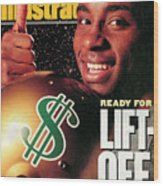 Raghib Ismail, 1991 Nfl Football Draft Preview Sports Illustrated Cover Wood Print