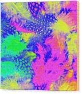 Rainbow Radiance Wood Print