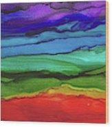 Rainbow Vision Wood Print