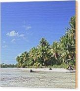 Rangiroa - Isola Dei Coralli - Reef Isl Wood Print