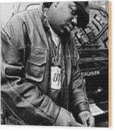 Rapper Notorious B.i.g., Aka Biggie Wood Print