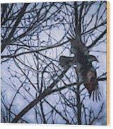Raven Wood Print