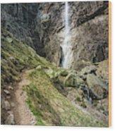 Raysko Praskalo Waterfall, Balkan Mountain Wood Print