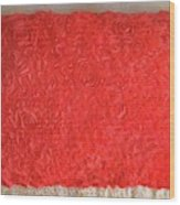 Red Pillow, Decorative. Ameynra Home Decor Wood Print