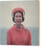 Red Queen Wood Print