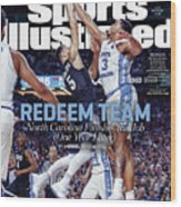Redeem Team North Carolina Finishes The Job one Year Later Sports Illustrated Cover Wood Print