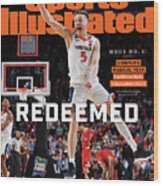 Redeemed University Of Virginia, 2019 Ncaa Champions Sports Illustrated Cover Wood Print