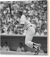 Reggie Jackson New York Yankees Wood Print