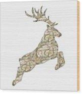 Reindeer - Holiday - North Pole Wood Print