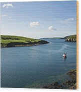 Republic Of Ireland, County Cork, Inlet Wood Print