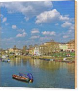Richmond Upon Thames - Panorama Wood Print