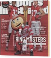 Ring Masters 2015 College Football Preview Issue Sports Illustrated Cover Wood Print
