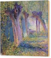 River Epte Giverny 1910  Wood Print