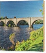 River Tay, Dunkeld, Perthshire Wood Print