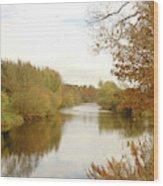 river Teviot at dusk Wood Print