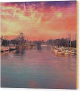 River Thames At Molesey Wood Print