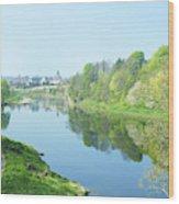 river tweed at Coldstream Wood Print