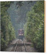 Rj Corman 3805 Wood Print
