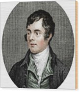 Robert Burns, Scottish Poet, 1877 Wood Print