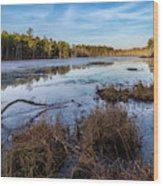 Roberts Branch Pine Lands Wood Print