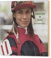 Robyn Smith, Horse Racing Jockey Sports Illustrated Cover Wood Print