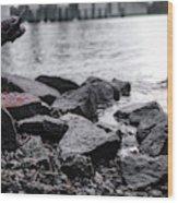 Rock Bridge Wood Print