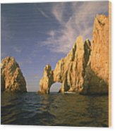 Rock Formations, Cabo San Lucas, Mexico Wood Print