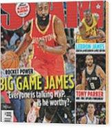 Rocket Power: Big Game James SLAM Cover Wood Print