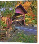 Roddy Road Bridge Wood Print