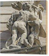 Rohan Palace Sculpture Wood Print