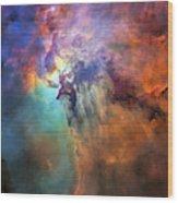 Roiling Heart Of Vast Stellar Nursery Wood Print